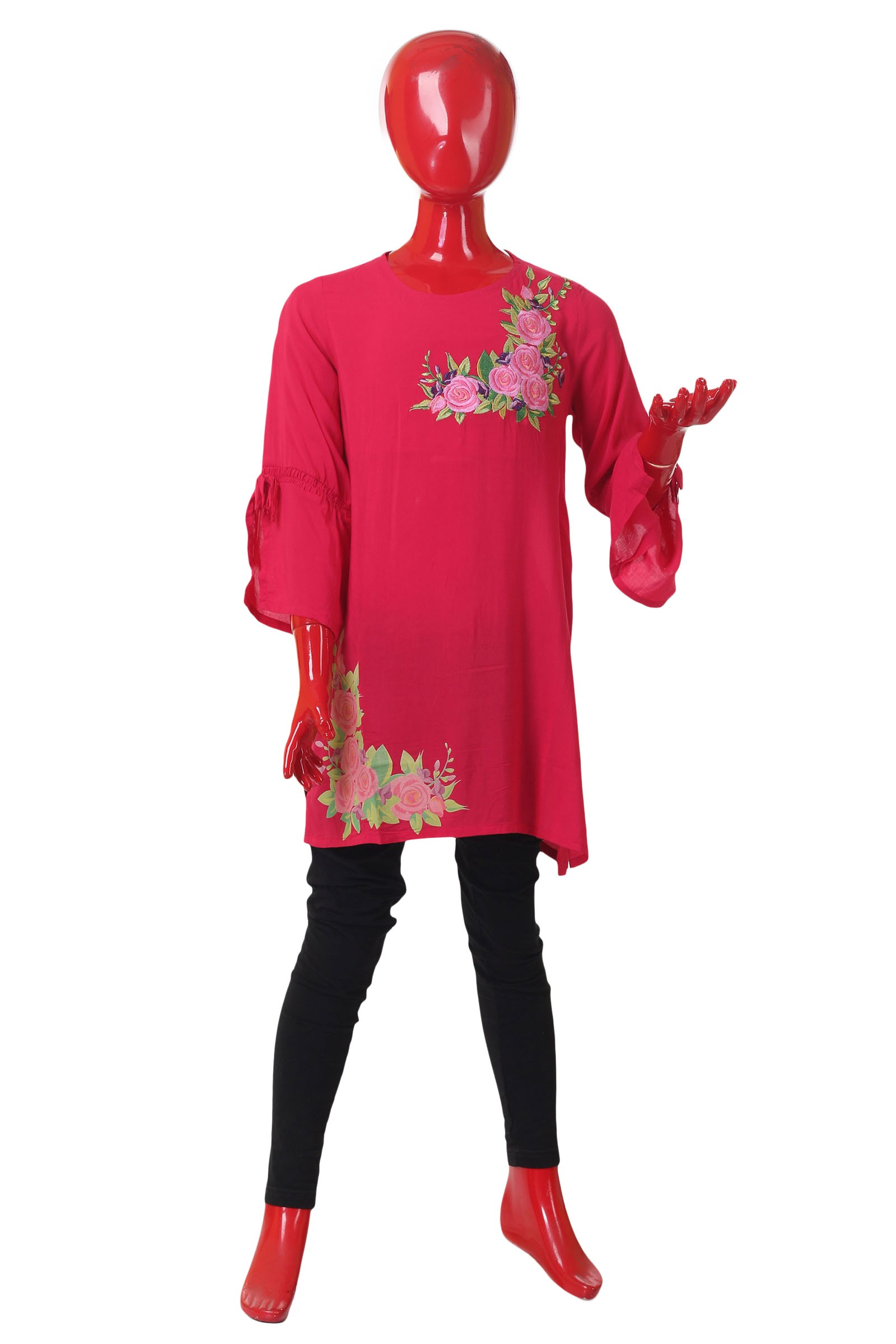1a3ecfdb Floral Embroidered Tunic